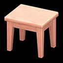 Tavolino di legno (Legno rosa, Nessuno)