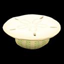 Tavolo conchiglia (Bianco)