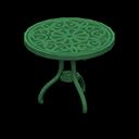 Tavolo da giardino di ferro (Verde)