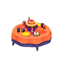 Tavolo di compleanno (Arancio)