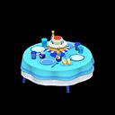 Tavolo di compleanno (Blu)