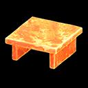Tavolo iceberg (Arancione ghiaccio)