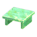 Tavolo iceberg (Verde ghiaccio)
