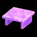 Tavolo iceberg (Viola ghiaccio)