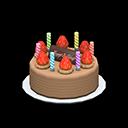 Torta di compleanno (Crema al cioccolato)