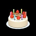 Torta di compleanno (Panna montata)