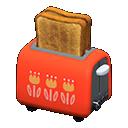 Tostapane automatico (Rosso)