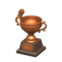 Trofeo di pesca di bronzo