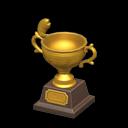 Trofeo di pesca d'oro
