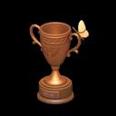 Trofeo insetti di bronzo