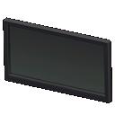 TV a LED a muro (50 pollici) (Nero)
