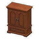 Vecchio armadio (Marrone)