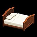 Vecchio letto (Marrone)