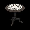 Vecchio tavolino (Nero)