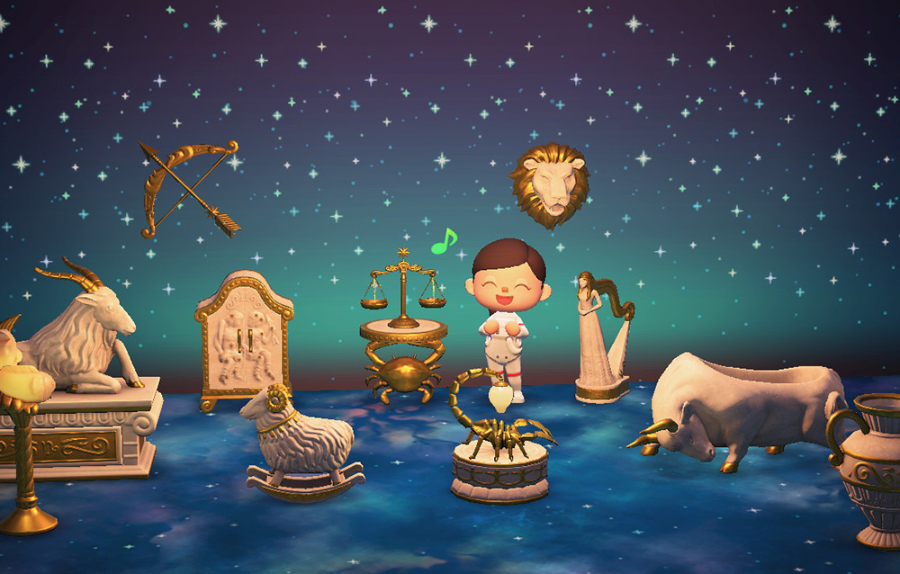 Tutto quello che bisogna sapere sulla serie zodiaco e su come ottenerla in Animal Crossing: New Horizons