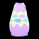 Abito a uovo acquatico (Viola)