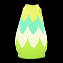 Abito a uovo frondoso (Verde)