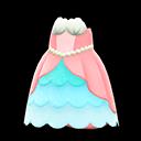 Abito principessa sirena (Rosa)