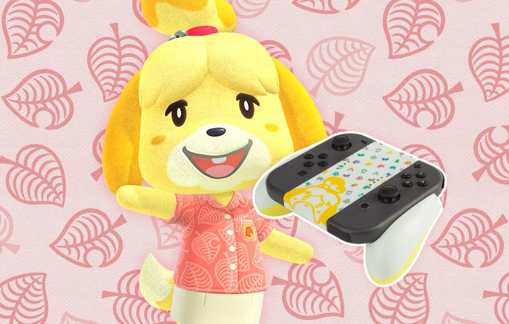 Annunciata una nuova impugnatura per Joy-Con della Switch a tema Animal Crossing!