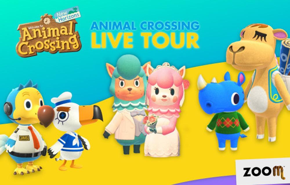 Lo Zoom di Torino organizza live tour nei primi due weekend di ottobre a tema Animal Crossing: New Horizons!