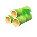 Bambù giovane primavera