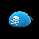 Bandana da pirata (Blu)