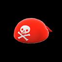 Bandana da pirata (Rosso)