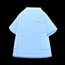 Blusa da infermiere (Blu)