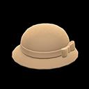 Bombetta con fiocco (Beige)