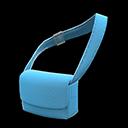 Borsa di tela a bandoliera (Blu)