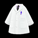 Camice da medico (Cravatta nera)