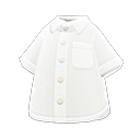 Camicia a maniche corte (Bianco)