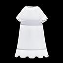 Camicia da notte (Bianco)