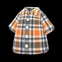 Camicia madras (Grigio)