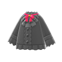 Camicia principesca (Nero)