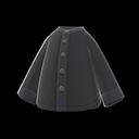 Camicia senza collo (Nero)