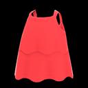 Canotta a strati (Rosso)