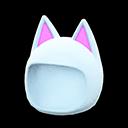 Cappello da gatto (Bianco)