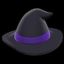 Cappello da strega (Nero)