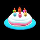 Cappello di compleanno (Blu)