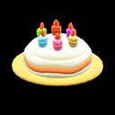 Cappello di compleanno (Giallo)