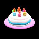 Cappello di compleanno (Rosa)