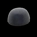 Cappello di ecopelliccia (Nero)