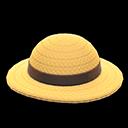 Cappello di paglia (Marrone)