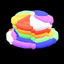 Cappello di palloncini (Arcobaleno)
