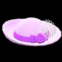 Cappello elegante (Viola)