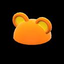 Cappello orecchie tonde (Arancio)
