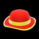 Cappello parasole (Rosso)