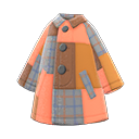 Cappotto patchwork (Marrone)