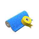 Carta da regalo blu